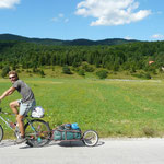 Arrivée en Slovénie