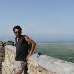 Sur les remparts de Signaghi, apres la bonne cote pour y arriver