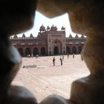 Le fort de Fatepur Sikri, abandonnée seulement 15 ans après sa construction à cause du manque d'eau...