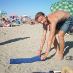 La serviette de voyage: légère a porter mais moins pratique pour la plage