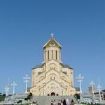 La Sameba, cathédrale de la Trinité, a T'bilissi