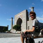 La pace du Registan, Samarcande
