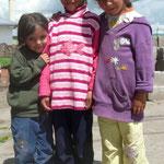 Jeunes habitantes de la région