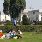 A Delhi, il y a des endroits bien propres, très calmes