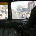 Dans un bus Indien... ne vous inquiétez pas tout va bien se passer