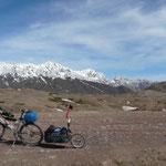 Au milieu des montagnes, pour l'instant plutot desertes...