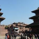 Le Durbar square de Baktapur