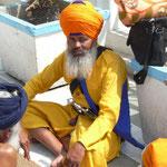 Un beau guerrier sikh