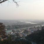 Haridwar vu depuis le temple