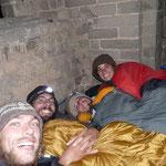 Les nuits sont plus chaudes qu'en Mongolie! (Meme si ca se voit pas trop sur la photo :-) )