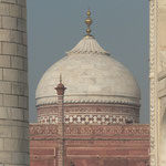 le toit de la mosquée