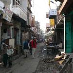Dans les rues de Fatepur Sikri près d'Agra