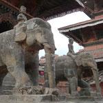Le durbar square de Patan