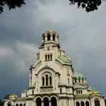 La cathedrale Alexander Nevski a Sofia