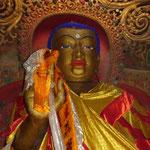 Un bouddha a Shigatse