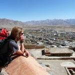 Quand le soleil chauffe et qu'il n'y a pas de vent, il fait tres bon au Tibet en Novembre