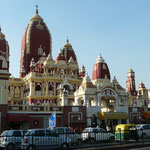 Le temple coloré de Laxmi-Narayan