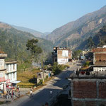 Barabise, premier gros village apres la frontiere Nepalaise