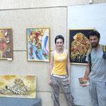 Evelyna nous présente sa galerie