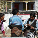 Femmes tibetaines