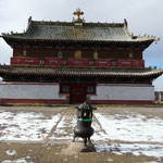 Depuis 1990, les temples et monasteres bouddhistes sont reouverts et cette religion regagne donc de l'importance en Mongolie.