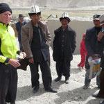 Négociation avec des Kyrghyzes pour acheter quelques nans