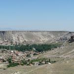 L'ouverture du canyon marque la fin de la Cappadoce