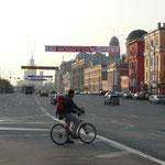 Nico se fraye un chemin dans les ruelles de Moscou