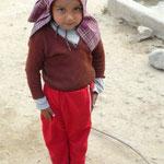 Pose d'un petit Nepalais