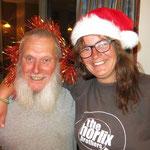 Die Weihnachtsfrau und ihr Gehilfe  - Mother Christmas and her helper
