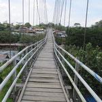 ich hasse Hängebrücken - I hat these wobbly bridges