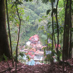 Bukit Lawang von oben - from the top