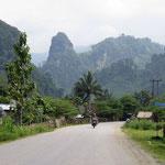 in der Nähe von Vang Vieng