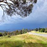 Gewitterwolken über Kingston  -  dark clouds over Kingston