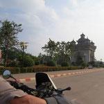 L'arc de triomphe de Vientiane