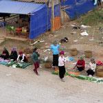 on the street market