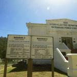 Das erste Tasmanische Wasserkraftwerk in Waddamana