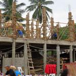 Haus bauen - building site