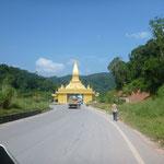 Laos Grenze - Lao border