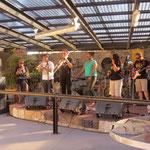 Reggae band an einem sonnigen Sonntagnachmittag  -  Reggae band on a beautiful sunny sunday afternoon