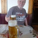 endlich ein Bier