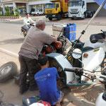 Bremse reparieren - repair the brakes