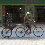 Fahrradtuktuk in Battambang