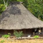 trditionelle Häuser hier sind rund  -  traditional hut here are round