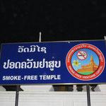 sind rauchfreie Tempel was Neues?