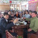 feiernde Vietnamesen