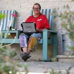 hart am schuften - working hard on our blog