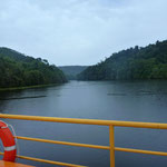 Ferry across the Pieman river - Corina
