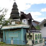 Batak grave - Gemeinschaftsgrab - die obere Etage ist für die 2 Bestattung der Knochen