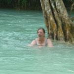 abkühlen in den Becken - refreshing bath in the pools